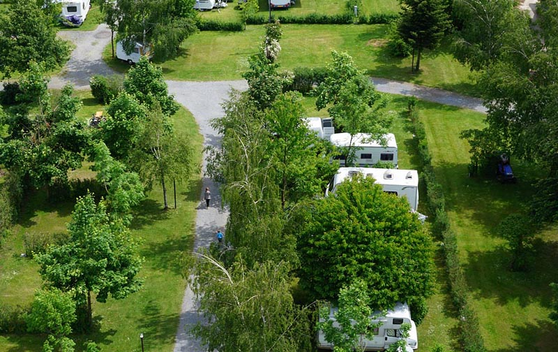 Camping Oase Prague - emplacements 20-44